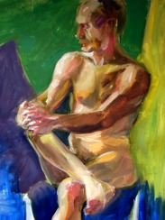 Clasping Nude