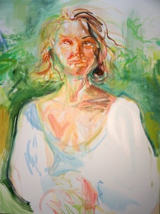 Leddy Park 30 x 40 oil on canvas 2018
